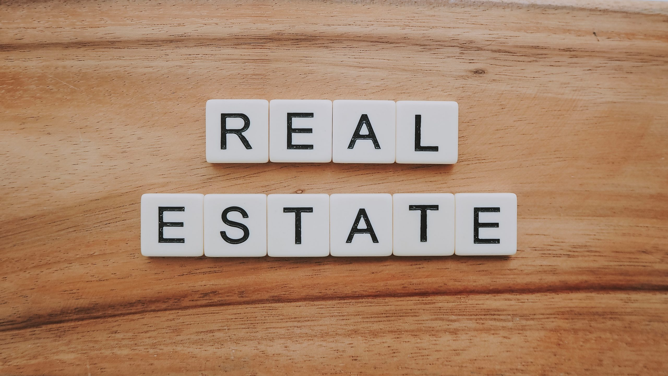 Real Estate Scrabble Pieces